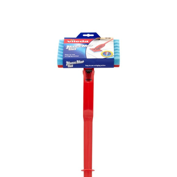 Vileda Flat Magic Mop Red