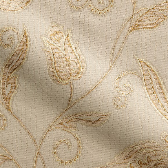 Cavendish Jacquard Cream Fabric Off-White