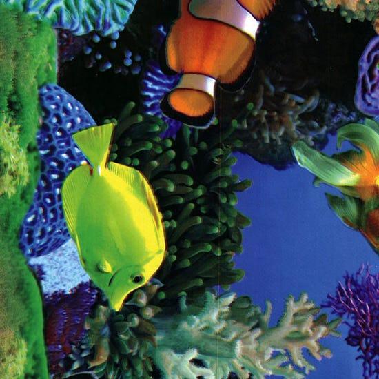 Tropical Fish PVC Blue