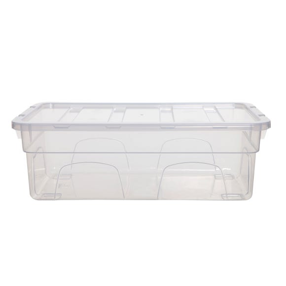 5L Spacemaster Plastic Storage Box Clear undefined