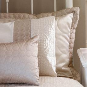 Circles Latte Oxford Pillowcase