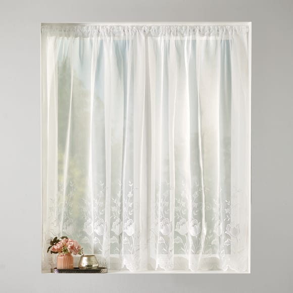 Adele Voile Net Fabric  undefined