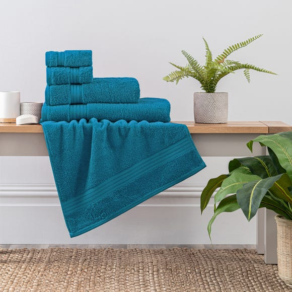 Teal Egyptian Cotton Towel  undefined
