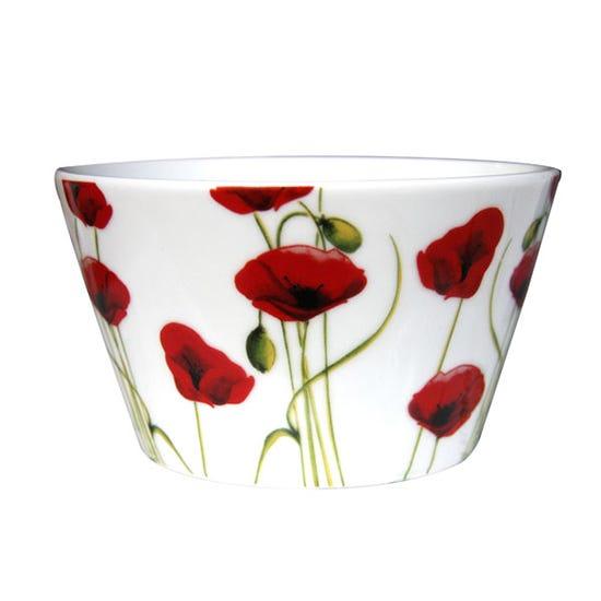 Poppy Breakfast Bowl White