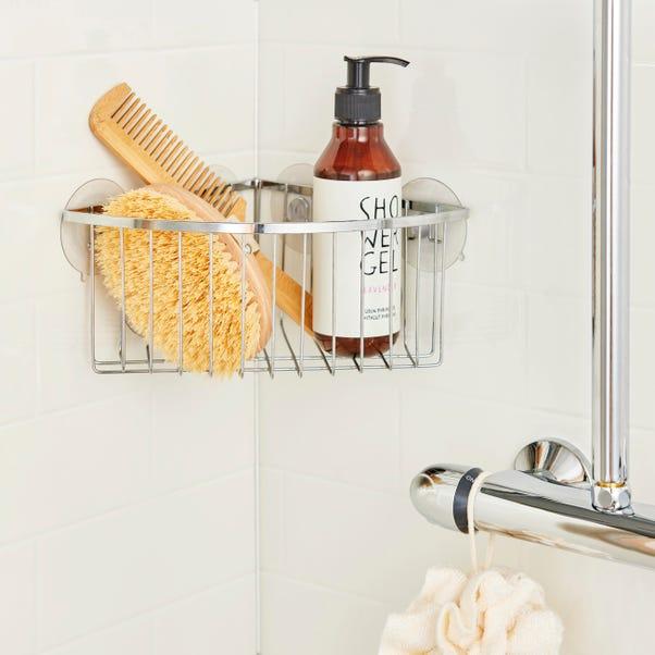 Aquaracks Deep Corner Basket Silver