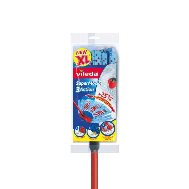 Vileda SuperMocio 3 Action XL Mop Red