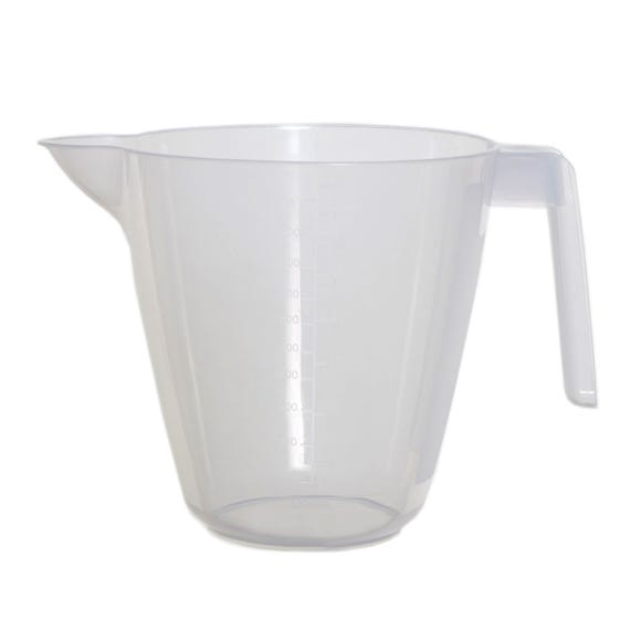 Plastic Measuring Jug Clear