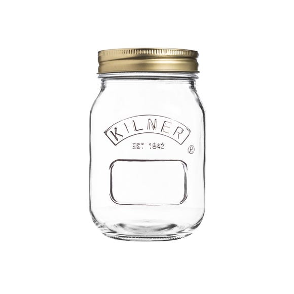 Kilner 500ml Preserving Jar Clear