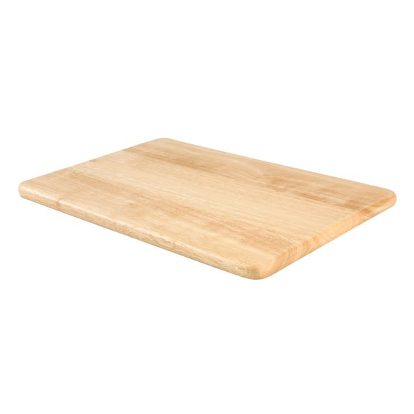 T&G Hevea Basic Chopping Board Brown undefined