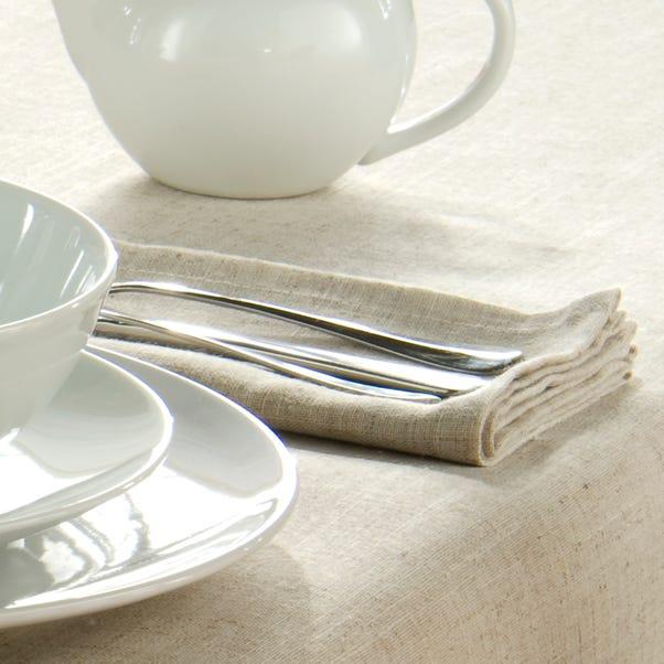 Pack of Four Polylinen Napkins Linen (Cream)