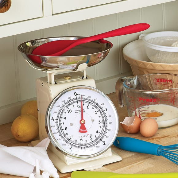 Terraillon T500 5kg Traditional Kitchen Scales Cream