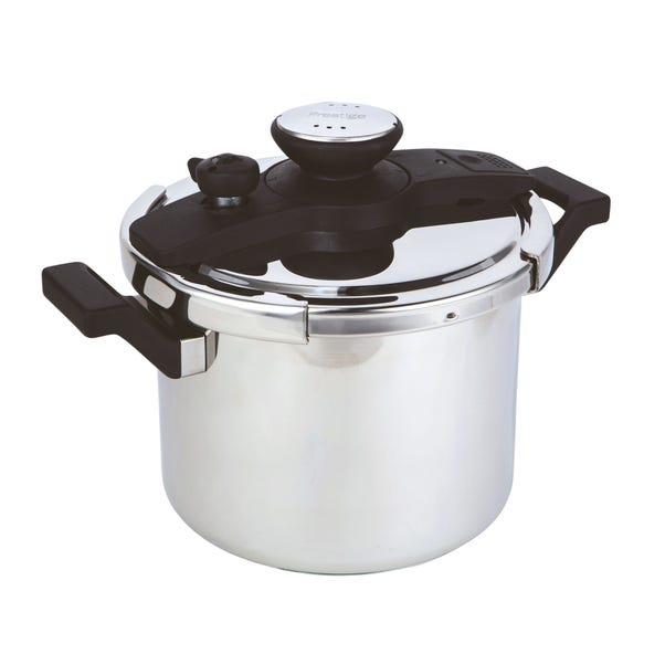 Prestige 6L Aluminium Pressure Cooker Silver
