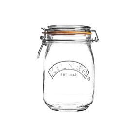 Kilner 1 Litre Round Clip Top Jar