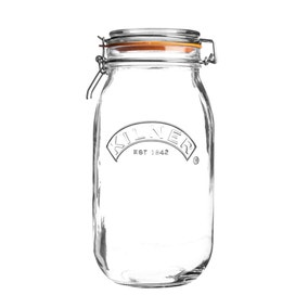 Kilner 3 Litres Round Clip Top Jar