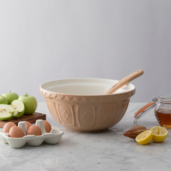 Mason Cash Traditional Mixing Bowl Natural (Brown) undefined