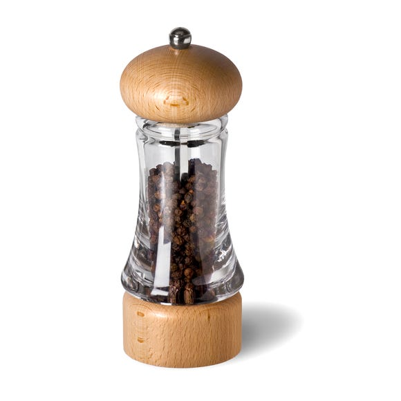 Cole and Mason Everyday Pepper Mill Clear