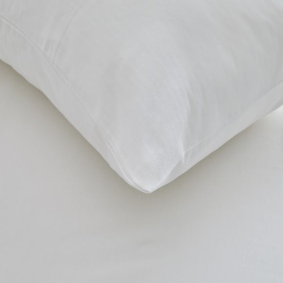 Freshnights Down Proof Zipped Pair of Pillow Protectors White