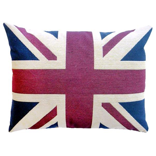Vintage Union Jack Cushion Multi Coloured
