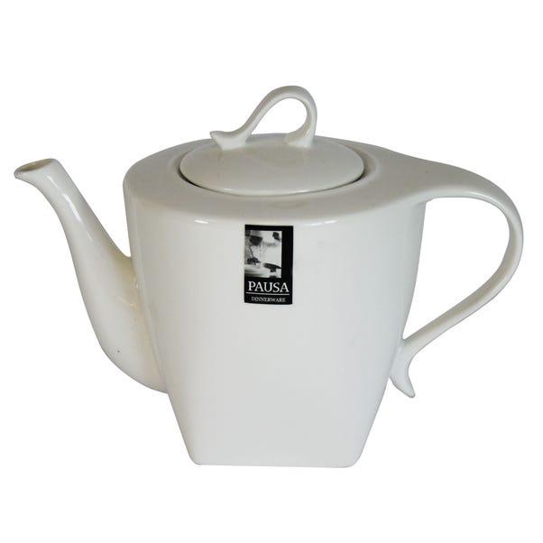Pausa Teapot White