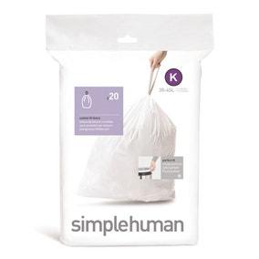 simplehuman K 38 Litre Bin Liners