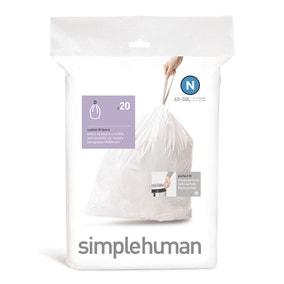 simplehuman N 45 Litre Bin Liners