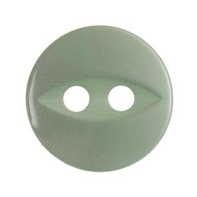 Pack of Thirteen Green Buttons