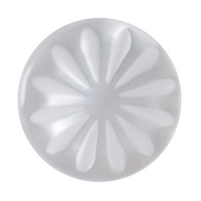 Pack of Six Small White Buttons