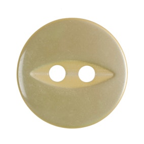 Pack of Eight Yellow Buttons