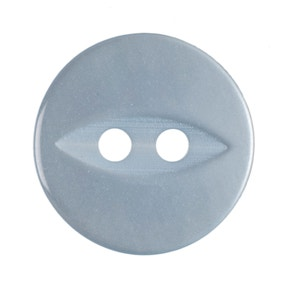 Round Fish Eye Buttons 13.75mm Pack of 8