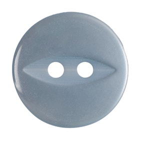 Pack of Five Baby Blue Buttons