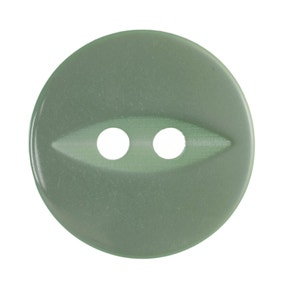 Pack of Five Lime Green Buttons
