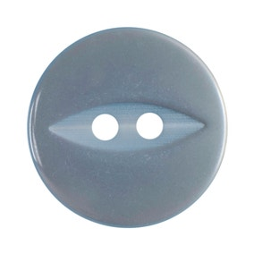 Pack of Four Baby Blue Buttons