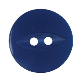 Pack of 4 Royal Blue Buttons 18.75mm