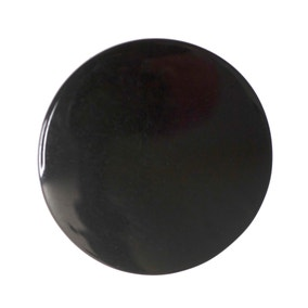 Pack of Six Black Buttons