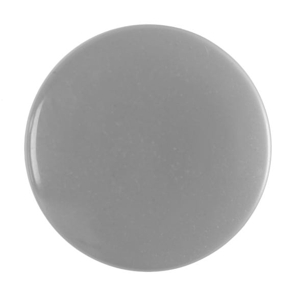 Pack of Six Large White Buttons White