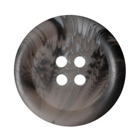 Round Rimmed Marbled Buttons 22.5mm Pack of 4
