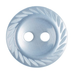 Twisted Edge Round Buttons 13.75mm Pack of 11