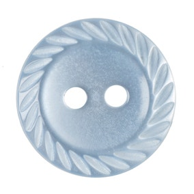 Twisted Edge Round Buttons 16.25mm Pack of 8