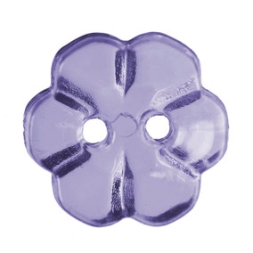 Pack of Five Lavender Buttons