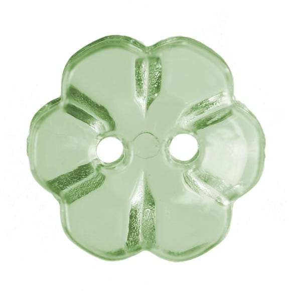 Pack of Five Emerald Buttons