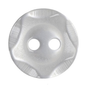 Pack of Nine White Buttons
