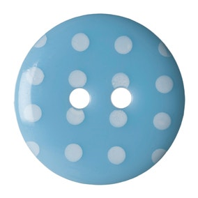 Pack of Four Sky Blue Buttons
