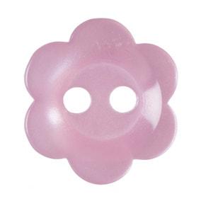 Pack of Seventeen Pink Buttons