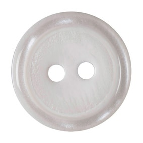 Pack of Four White Buttons