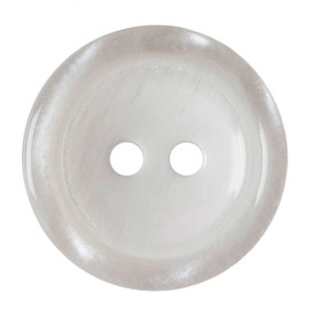 Pack of Three White Buttons