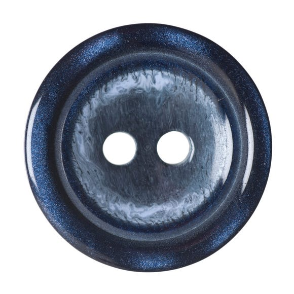 Pack of Three Navy Buttons