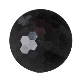 Round Domed Faceted Buttons 11.25mm Pack of 11