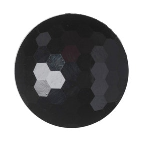 Pack of Nine Black Buttons
