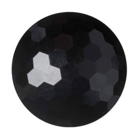 Round Domed Faceted Buttons 17.5mm Pack of 6