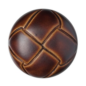 Pack of Two Brown Buttons